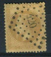 FRANCE ( POSTE )  :  Y&T  N°  21 , TIMBRE  BIEN  OBLITERE . - 1862 Napoleon III
