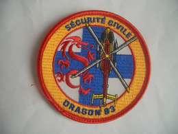 Patch Sécurité Civile - Pompiers