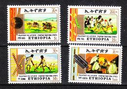 Etiopia - 1984. Lotta,Polo,Hockey Prato, Giochi Da Tavolo.Fight, Polo, Hockey Lawn, Board Games MNH - Lotta