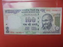 INDE 100 RUPEES 2013 PEU CIRCULER - Inde