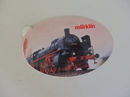 Autocollant Sur La Locomotive Marklin. - Autocollants