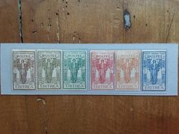 COLONIE ITALIANE - ERITREA - Pro Istituto Coloniale Nn. 107/12 Nuovi * + Spese Postali - Eritrea