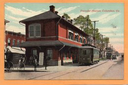 Columbus GA 1910 Postcard - Columbus