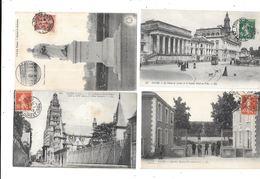 11146 - Lot De 1000 CPA Du Département 37, - 500 Postkaarten Min.