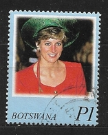 BOTSWANA   1998 Diana, Princess Of Wales Commemoration  Used - Botswana (1966-...)