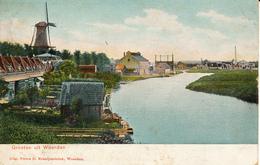 Woerden Windhond, Groeten Uit,, Korenmolen, Windmill,Oude Rijn - Windmolens