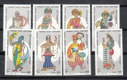SOMALIA 1997 - TRAJES REGIONALES - YVERT Nº 577/584** - Textile