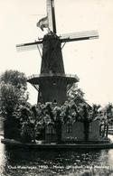 Wateringen, Heulweg, Windlust, Korenmolen, Windmill, Real Photo - Windmolens