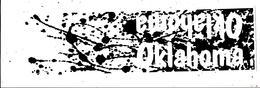 Autocollant , Grand Modéle ,OKLAHOMA , 260 X 75 . , Frais Fr 1.75 E - Stickers