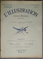 L'Illustration 4002 15 Novembre 1919 Kharkof/Blasons/Lens Béthune Péronne/L'atelier De Courbet/Ambre De Nubie Paris - Journaux - Quotidiens