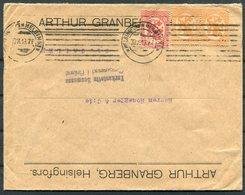 1919 FinlandGranberg Censor Cover Helsingfors - St Gallen, Switzerland - Finland