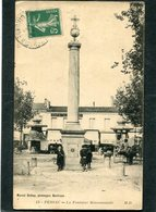 CPA - PESSAC - La Fontaine Monumentale, Animé - Pessac