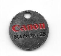 Jeton De Caddie  CANON  St RWriter  25 - Jetons De Caddies
