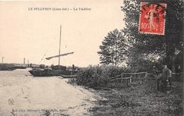 ¤¤    -   LE PELLERIN    -  La Tindière   -  Bateau , Gabare ? , Voilier  -   ¤¤ - Frankrijk