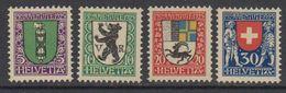 Switzerland 1925 Pro Juventute 4v  ** Mnh (42190) - Pro Juventute