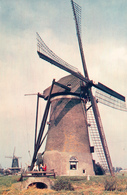 Oud Alblas, Kooywijkse Molen, Poldermolen, Windmill, Real Photo - Windmolens