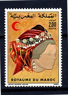 Roy. Maroc ** N° 990  - Croix Rouge - Morocco (1956-...)