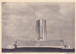 Entiers Postaux- Mémorial De Vimy- 1936 - Entiers Postaux