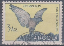 Angola Vögel 1951: Mi 348 3,00 A. Gestempelt - Angola