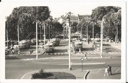 Photo  - Tramway - Bus - Perrache - 3 Juillet 1966 - Trolleybus - Trains