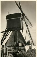 Streefkerk, Hoogesluismolen, Wipwatermolen, Windmill, Real Photo - Windmolens