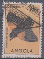 Angola Vögel 1951: Mi 354 7,00 A. Gestempelt - Angola