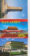 CHINE CHINA - PLACE TIAN AN MEN TIAN'ANMEN - 10 CARTES POSTALES NEUVE - Chine