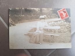 Carte Postale Photo D'une Personne 1909 - Anonymous Persons