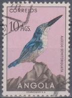 Angola Vögel 1951: Mi 355 10,00 A. Gestempelt - Angola