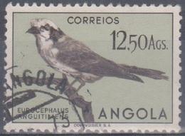 Angola Vögel 1951: Mi 356 12,50 A. Gestempelt - Angola