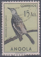 Angola Vögel 1951: Mi 357 15,00 A. Gestempelt - Angola