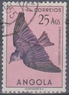 Angola Vögel 1951: Mi 359 25,00 A. Gestempelt - Angola