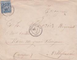 T.P Sage II N°79 Decazeville>Villefranche De Rouergue 1878 - 1876-1898 Sage (Type II)