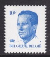 TIMBRE NEUF DE BELGIQUE - ROI BAUDOUIN 1ER (SERIE COURANTE 1982) N° Y&T 2070 - Koniklijke Families