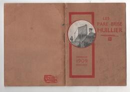 RARE - 1909 - ACCESSOIRES POUR AUTOMOBILE - DEPLIANT PUBLICITAIRE LES PARE-BRISE HUILLIER - - Publicités