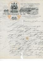 HANNEREVER .- F. W. OLDENBURGER NASHF - Alimentaire
