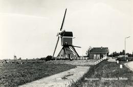 Hoogmade Hoogmadese Molen, Poldermolen, Windmill, Real Photo - Windmolens