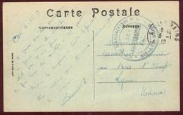 Franchise Militaire * Hôpital Complémentaire N° 51 Aix-les-Bains   *  Convalescent  Blessé  1914 - 1918  Savoie - Postmark Collection (Covers)