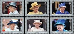 GB Alderney Aurigny 0554/59 H.M Queen Elizabeth II - Koniklijke Families