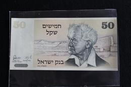 M-An / Billet  -  Israel, 50 Sheqalim /  1978 - Israel
