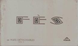 FEZ - Carnet De 20 Cartes Postales Détachables - Fez (Fès)
