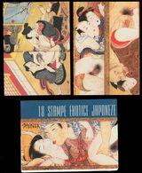 Japanese Erotic Art - 18 SHUNGA Reproduction Postcards, Utagawa Toyokuni, Asian Erotica, Sex Paintings - Orientalisches Dekor