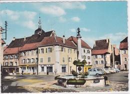 90 DELLE Fontaine Place De La République ,façade Crédit Commercial De France ,banque - Delle
