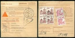 Deutschland Paketkarte Achtziger Jahre Sehe Scan - Briefe U. Dokumente