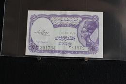 M-An / Billet  - EGYPT - 5 Piastres Banknotes  /  Année ? - Egipto