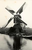 Woubrugge, Gros-molen, Poldermolen, Windmill, Real Photo Ludlage - Windmolens