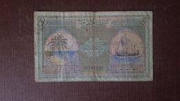 MALDIVES IS. 2 RUFIYAA 1960 - Maldives