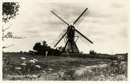 Hoogmade, Vlietmolen, Poldermolen, Windmill, Real Photo - Windmolens