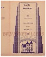 CAF CONC FOLKLORE PATOIS BÉARN POPULAIRE PARTITION AU BI DE YURANÇOU CHARLES BERTROU DUTHALBER PRIX PATRIOTE 1930 PAU - Muziek & Instrumenten