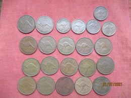 Australia: 1 Penny 1955,1956,1957, 1958, 1964 - Penny